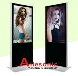 65-Inch LCD рекламируя пол стоя с прямоугольным, Signage игрока цифров