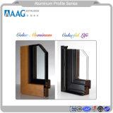 Disegno della griglia dei portelli di alluminio di disegni di profilo della nuova finestra del Guangdong e della parete divisoria