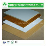 MDF solido di Color Wood Grain Color 4X8FT Melamine Faced