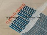 Haut de qualité d'électrodes de tungstène de couleur rouge Wolfram WT20