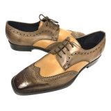 Los hombres de cuero auténtico OEM Brogue Vestir Zapatos Derby