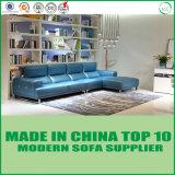 Sofas sectionnels de meubles en cuir modernes américains de salle de séjour