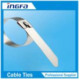 Cravates Zip en acier inoxydable 316 pour bandes