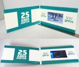 Cartão de instrução video da tela feita sob encomenda do LCD da arte -final