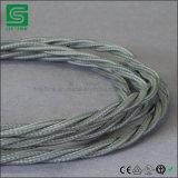 Kleurrijke ElektroDraad/TextielKabel/de Kabel van de Stof voor het Licht van de Tegenhanger