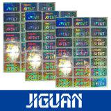 Qualitäts-transparente Sicherheits-Hologramm-Aufkleber