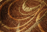 Ткань геометрической конструкции синеля для софы