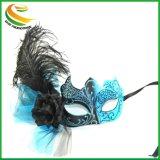 Muliti-Color Decoración Personal parte Turquía/máscara de plumas de avestruz