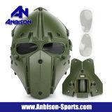 Casco comodo della mascherina di più nuova di Airsoft del motociclo sicurezza tattica del fronte pieno