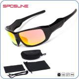 El 5 de alto impacto con lentes intercambiables anteojos de sol deportivas de béisbol