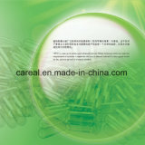 녹색 투명한 빈 단단한 젤라틴 HPMC 캡슐