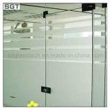 ドアのための緩和された曇らされた低い鉄余分明確なガラス