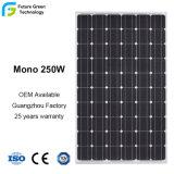 Comitato solare di PV di potere di alta efficienza 250W mono