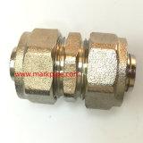 Guarnición de cobre amarillo niquelada de la compresión de Cw617n