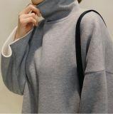 2017 새로운 디자인 형식 여가 높은 고리 스웨터 또는 Hoody