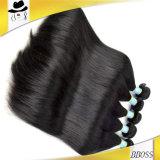 上の標準的なバージンのRemyのブラジルに毛の編むこと