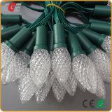 IP65 Waterproof o tipo das luzes ao ar livre da corda do diodo emissor de luz do Natal baixo preço da morango