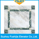 ミラーのステンレス鋼フレームワーク装飾が付いているFushijiaの別荘のエレベーター