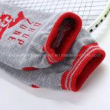 Spandex-/Baumwollmaterial-und Erwachsen-Altersklasse-Hefterzufuhr-kundenspezifische Griff-Socken-Trampoline-Socke