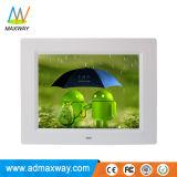 中国シンセンHD LCDデジタルの額縁WiFi無線3G 4G (MW-087WDPF)の8インチ