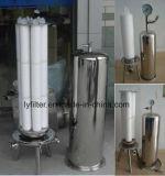 0.22 0.45 filtros plissados 5 mícrons do cartucho para a membrana de PP/PTFE/Pes