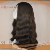 Parrucca di qualità superiore superiore di seta dei capelli umani (PPG-l-0539)