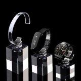 Modern Watch Display stands Stands d'acrylique transparente de haute qualité