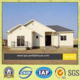 La casa modulare in costruzione prefabbricata ha rifinito