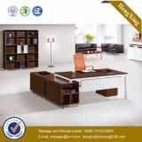 25mm Stärken-preiswerter Preis L Form-Büro-Schreibtisch (HX-UN044)