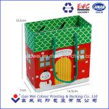 De Zakken van het Document van de Gift van Kerstmis, de Zakken van de Verpakking van de Gift, de Zakken van het Document van het Karton van de Gift