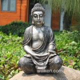 Meditación interior y al aire libre barata pequeño Buddha de la resina de la decoración