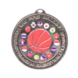 China-Lieferanten-Großverkauf-guter Markt-kundenspezifische Metallsport-Preise für den Sport, der Medaillen-Bildschirmanzeige-Aufhängung schwimmt