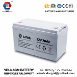 батарея геля пользы UPS солнечной батареи 12V 70 Ah/10hr