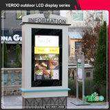 """65 """"屋外LCD表示の広告の方法デザイン"""