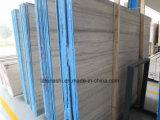 지면 또는 벽 도와를 위한 대리석이 자연적인 Polished 파란 나무에 의하여 정맥처럼 뻗친다