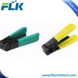 Het Scherpe Afbijtmiddel van de Kabel van de Apparatuur van de Optische Vezel van het Hulpmiddel FTTH