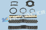 Hcvac 시계 줄 PVD Mf 자전관 침을 튀기기 진공 코팅 기계