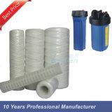 Remplacement 20 pouces 5 filtre de la chaîne de caractères pp de micron pour le boîtier d'usine de RO de l'eau