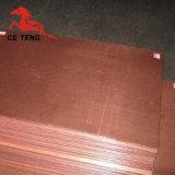 Hoja de cobre libre de oxígeno de la fabricación de cobre de la hoja