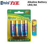 Potere verde alcalino della batteria a secco di Lr6-AA per il giocattolo Using