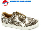 Zapatos ocasionales impresos de la flor con el mejor precio para los hombres