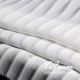 Polyester-gestreiftes Chiffon- Gewebe 100% für Bluse der Damen