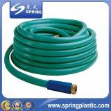 Mangueira de jardim flexível disponível do PVC da cor diferente com injetor de pulverizador
