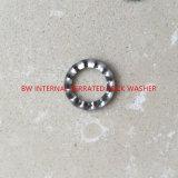 Rondelle de freinage dentelée interne de l'acier inoxydable DIN6798j-M4
