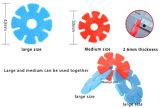 Les synthons en plastique d'éclaille de neige de large échelle, blocs de épissure de puzzle d'enfants, Assemblée d'éclaircissement de bébé joue le jouet de synthon