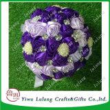 Fita de cetim Rose Flower DIY apliques do casamento de Fita Grosgrain artesanais