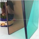 Parete divisoria di vetro tinta decorazione della facciata riflettente di vetro