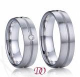 Einfacher Ring-Edelstahl-Schmucksache-Ring