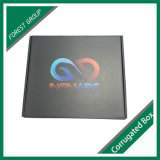 El logotipo de barniz UV Spot Caja de papel de embalaje de cartón ondulado