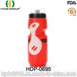 Изготовленный на заказ логос BPA освобождает пластичную бутылку воды спорта велосипеда